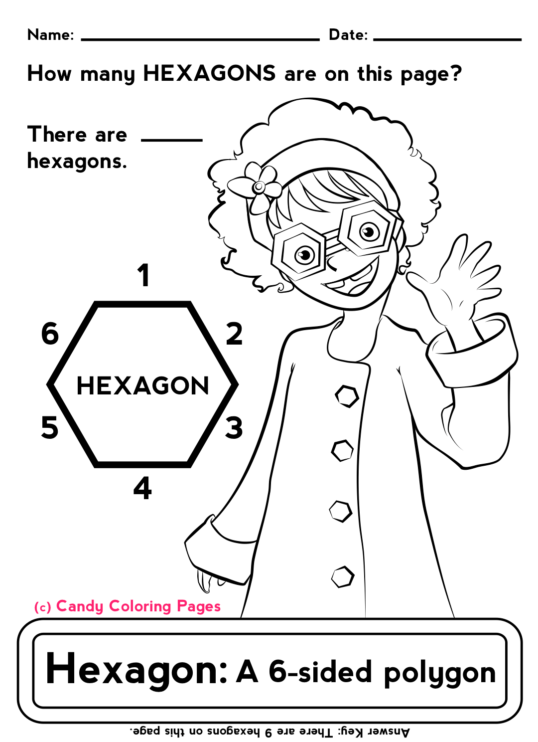 hight resolution of polygon   Penny Candy Math Worksheets