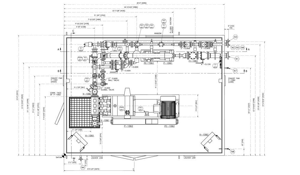 medium resolution of general arrangement drawing ga process instrumentation diagram