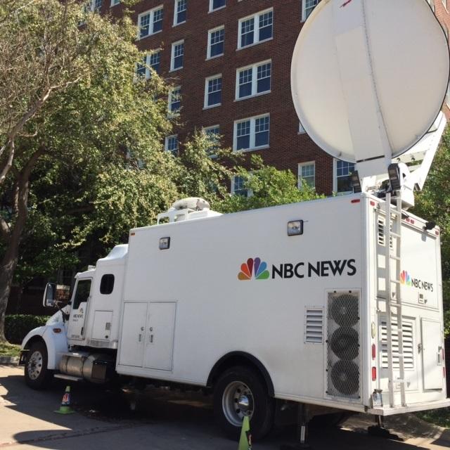 NBC trucks