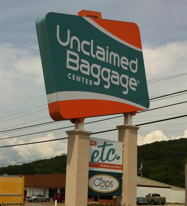 Unclaimed Sign - Small