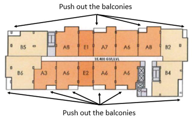 Non-Penthouse Floor Plate