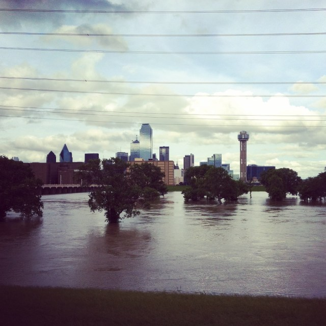 Full Trinity River, May 2015. Taken by Amanda Popken