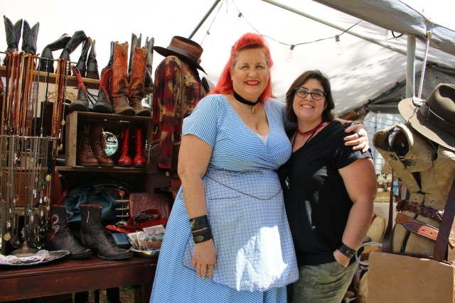 Bombshell Betty at Round Top Antique Fair. Photo: Lisa Stewart Photography