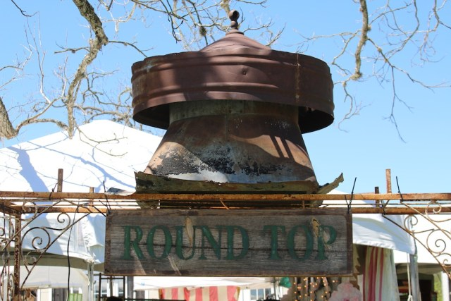 Architectural finds as well as furniture, jewelry and everything else are in Round Top this week. Photo: Lisa Stewart Photography