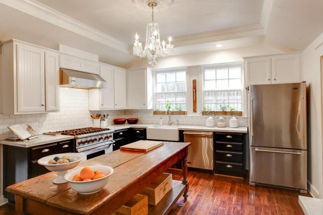 Functional and spacious kitchen