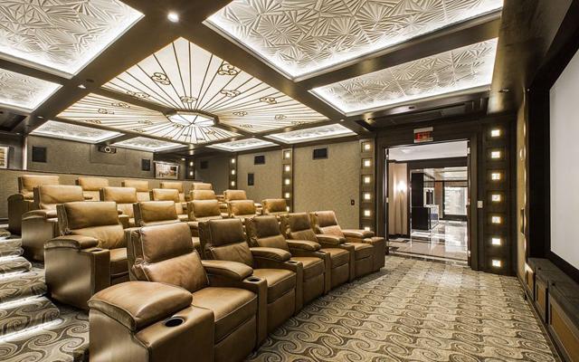 The Stoneleigh's Movie Theater