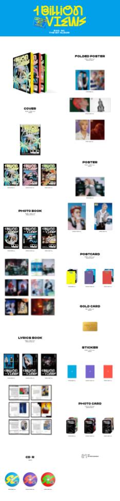EXO-SC 1st Album Billion Views Album Details