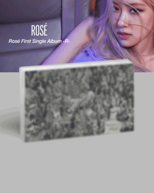 Rosé First Single Album -R-