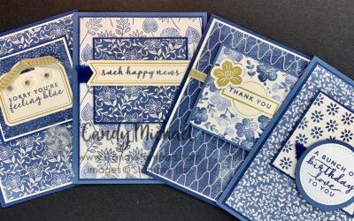 Matching Cards & Box for a class or gift