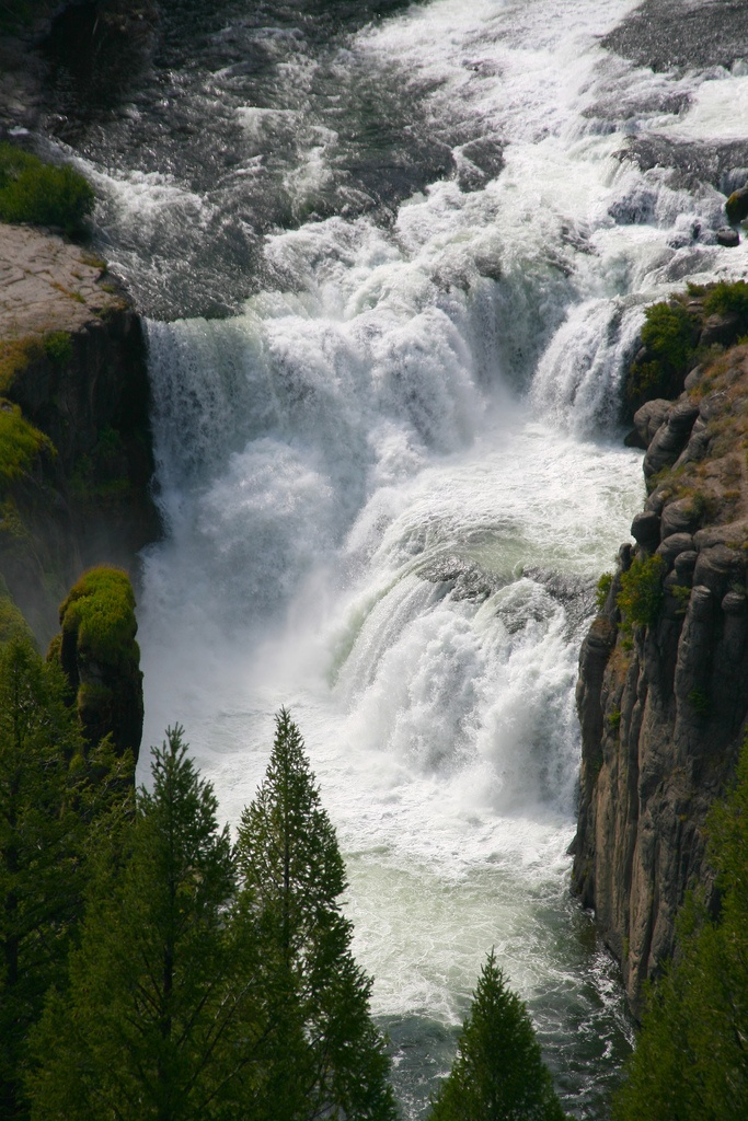 Lower Mesa Falls Wyoming  Cane Jason