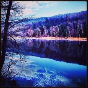 Himmel im Fluss