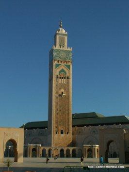 A Mesquita Hassan II, em Casablanca é uma das maiores do mundo árabe