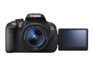EOS 700D FRT LCD OPEN w EF-S 18-55mm IS STM