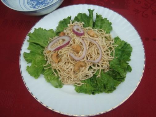 Salade de nouille asiatique