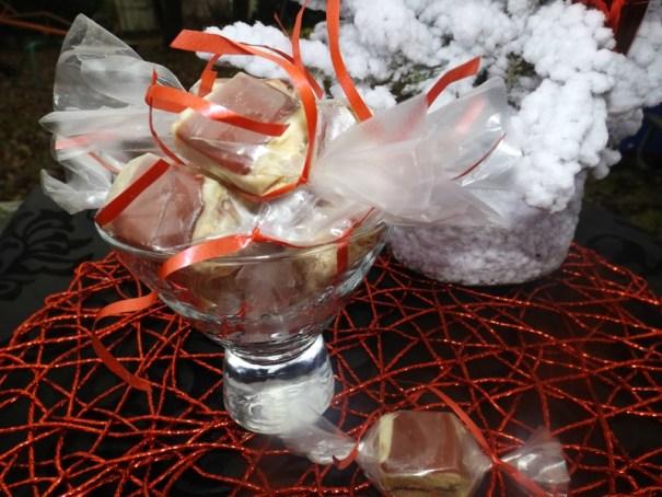 Bonbons salés au foie gras