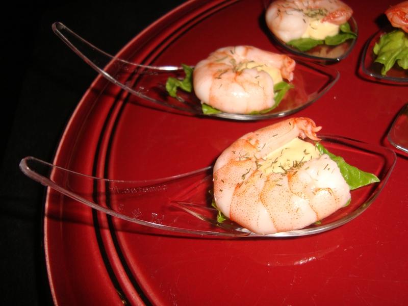 Cuillère apéritive à la crevette et sa sauce cocktail4