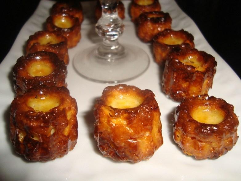 Mini-cannelés au foie gras