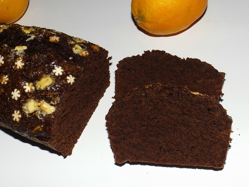 Pain d'épices au chocolat et à l'orange