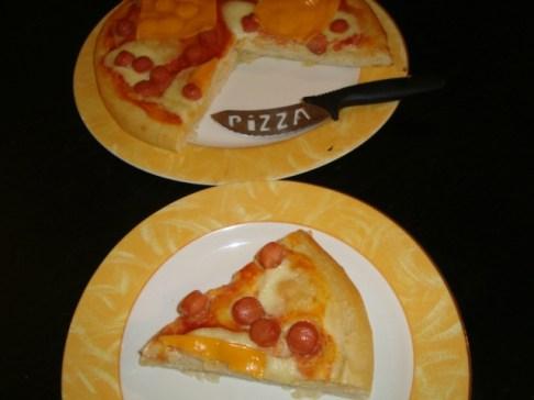 Pizza hot dog2
