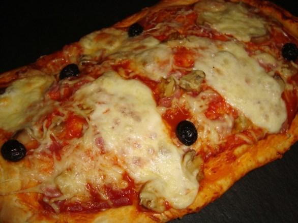 Pizza Regina maison2
