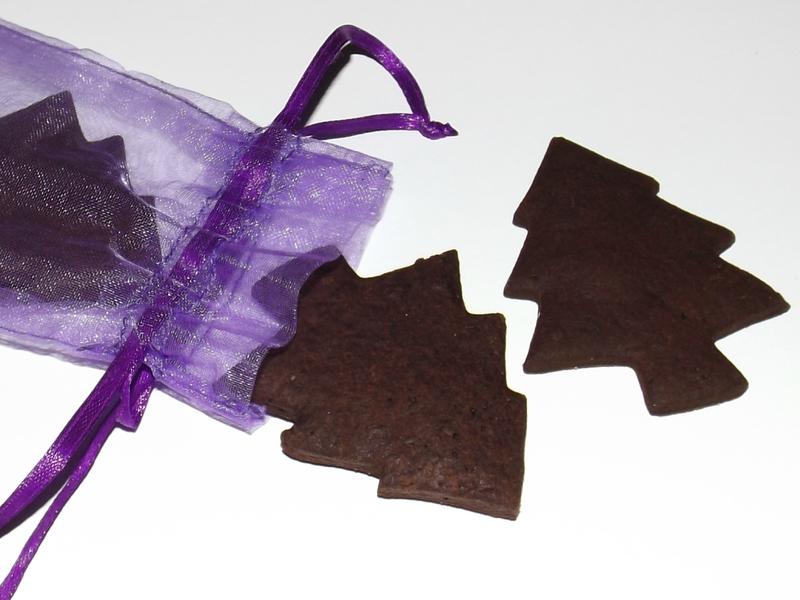 Sablés de Noël au chocolat et fève Tonka ( Bredele )