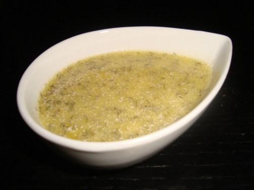 Sauce de salade allégée à l'aneth
