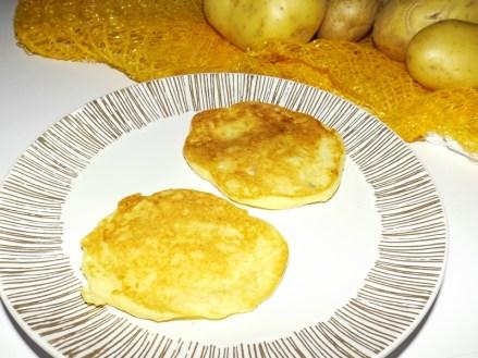 Galette de purée de pommes de terre