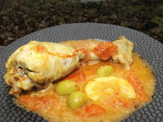 Pilons de poulet au citron et aux tomates cerise (2)