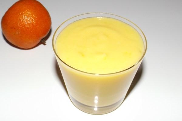 Clémentine curd sans beurre