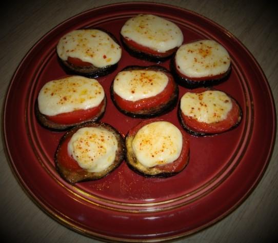aubergine façon tartine