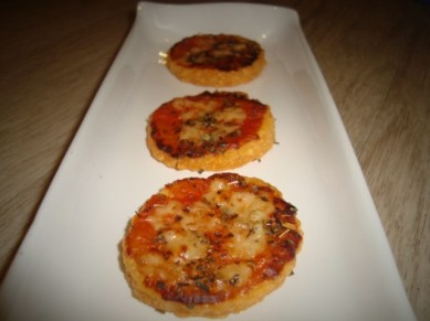 cheese pizza ( biscuits apéritifs )2