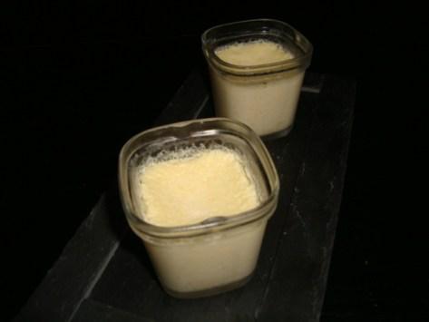 crème aux oeufs ( avec la multi délices )