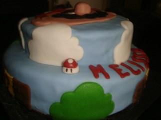 gâteau mario pour les 9ans de mélissa2