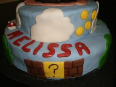 gâteau mario pour les 9ans de mélissa3