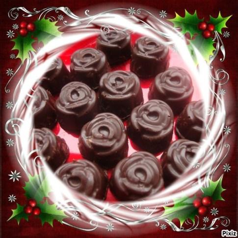 petits chocolats fins ganache au lait à la fève tonka et à la vanille (3)