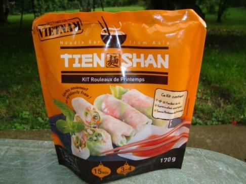 rouleaux de printemps classiques ( crevettes, carotte et menthe )5