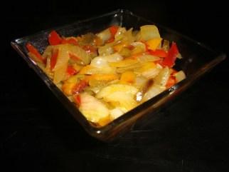 Confit de poivrons Monégasque2