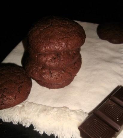 Les Outrageous chocolate cookies de Martha Stewart