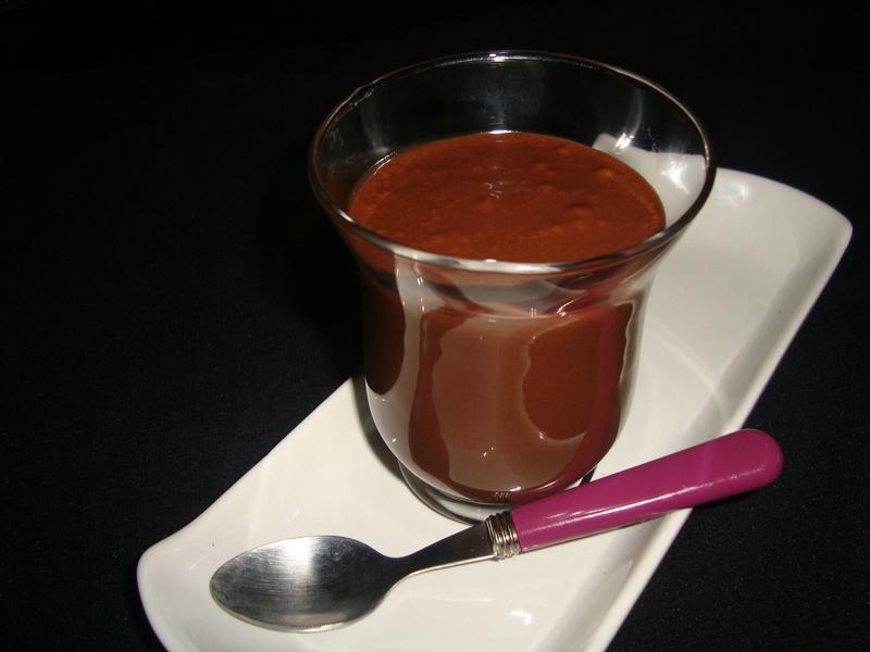 Sauce chocolat express