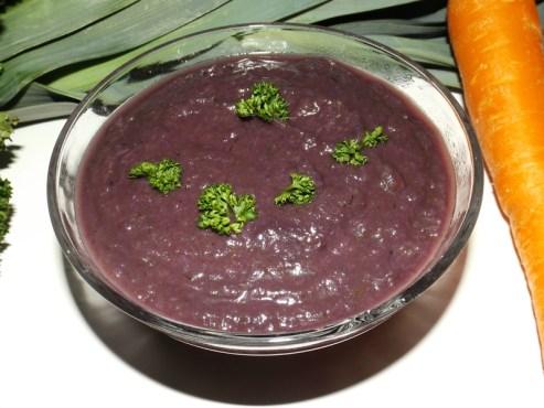 Soupe au chou rouge ( recette Toscane )2
