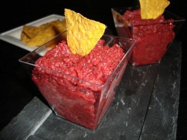 Guacamole de betterave rouge2