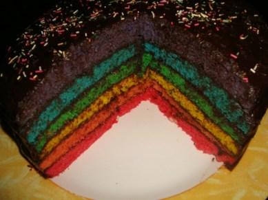 Gâteau Rainbow2