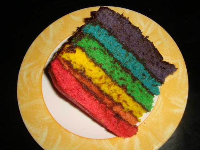 Gâteau Rainbow4