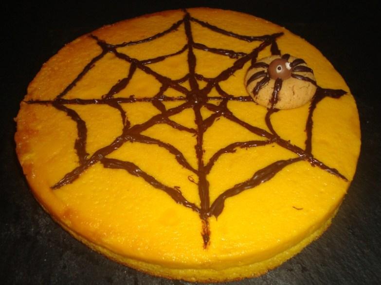 Gâteau magique d'Halloween
