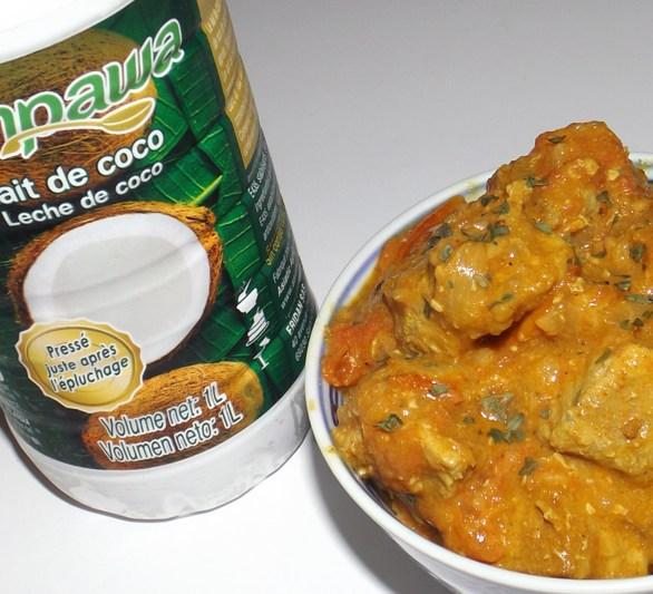 Sauté de porc aux tomates cerise et au lait de coco 2 (17 09 2020)