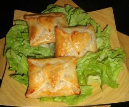 Feuilleté à l'oignon et à la viande hachée (2)