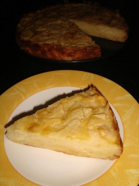 Gâteau Invisible aux pommes et aux poires d'Eryn