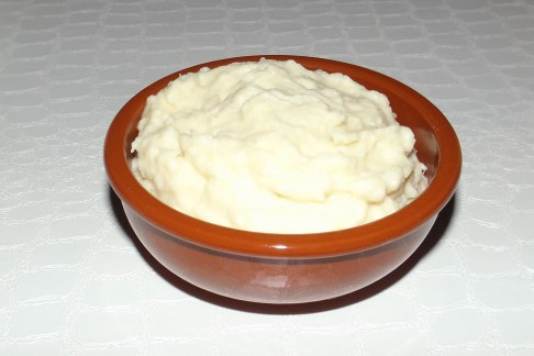 Purée de chou blanc au gorgonzola