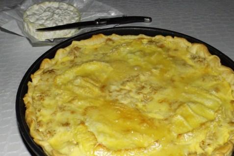 Tarte aux chou-fleur et au camembert