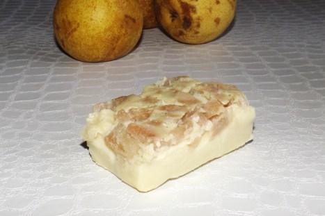 Cuadjada Vanillé à la Poire (sans beurre)